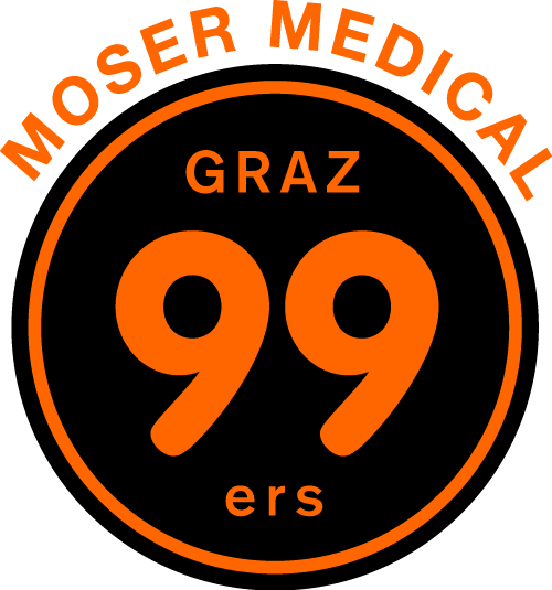 Logo Moser Medical Graz99ers