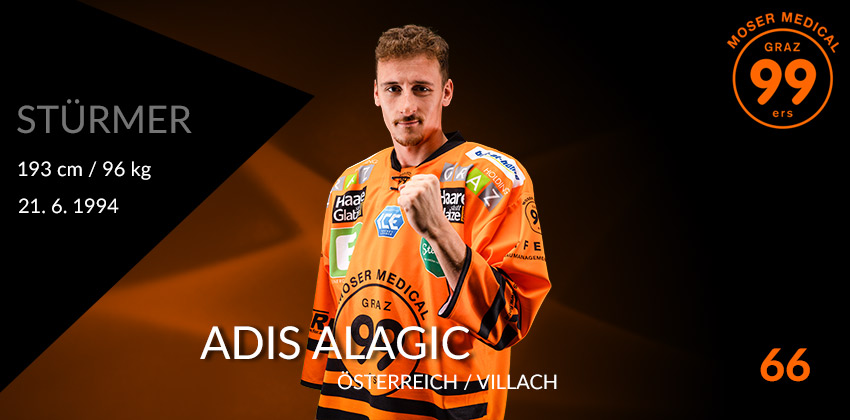 Adis Alagic - Moser Medical Graz99ers