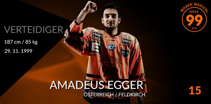 Amadeus Egger - Moser Medical Graz99ers
