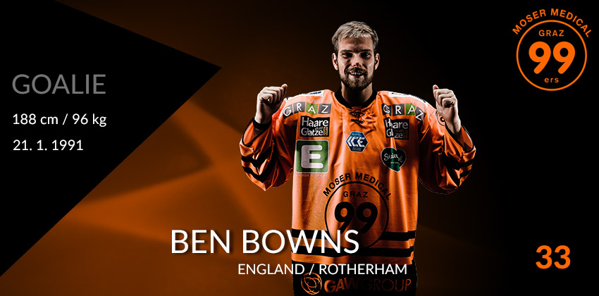 Ben Bowns - Moser Medical Graz99ers