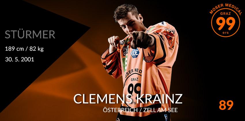 Clemens Krainz - Moser Medical Graz99ers