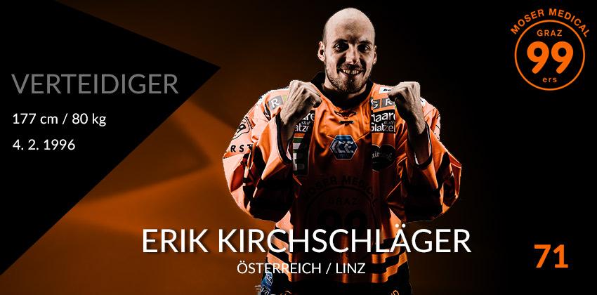 Eric Kirchschläger - Moser Medical Graz99ers