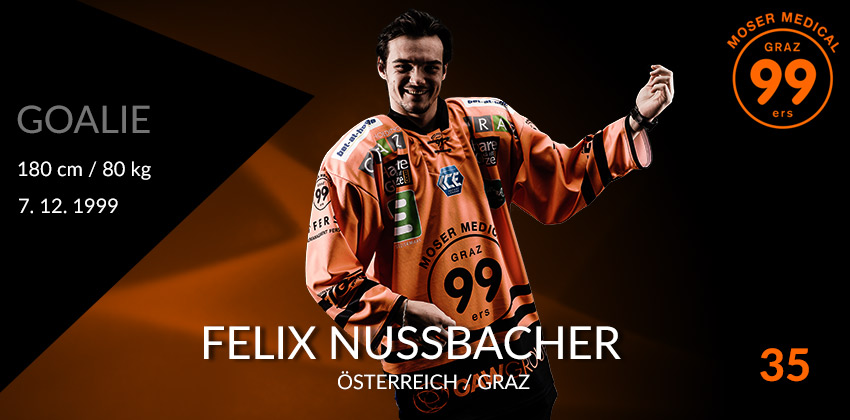 Felix Nussbacher - Moser Medical Graz99ers