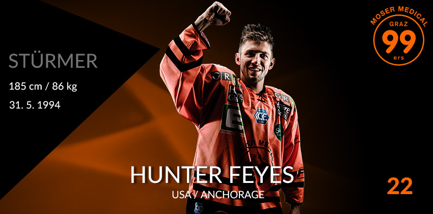 Hunter Feyes - Moser Medical Graz99ers