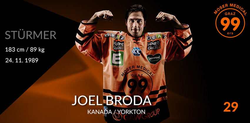 Joel Broda - Moser Medical Graz99ers
