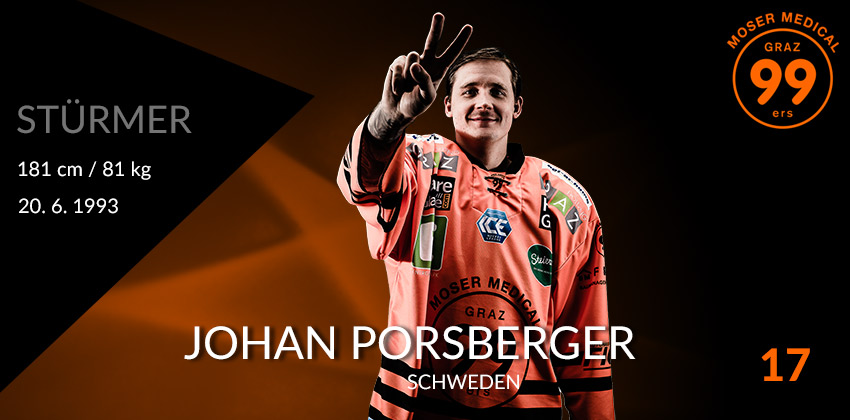 Johan Porsberger - Moser Medical Graz99ers
