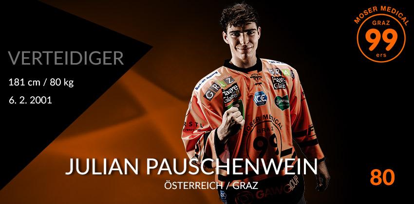 Julian Pauschenwein - Moser Medical Graz99ers