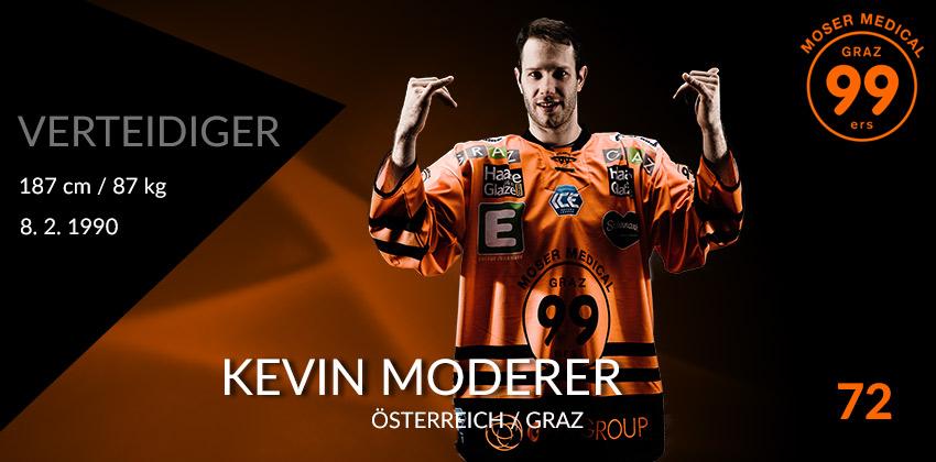 Kevin Moderer - Moser Medical Graz99ers
