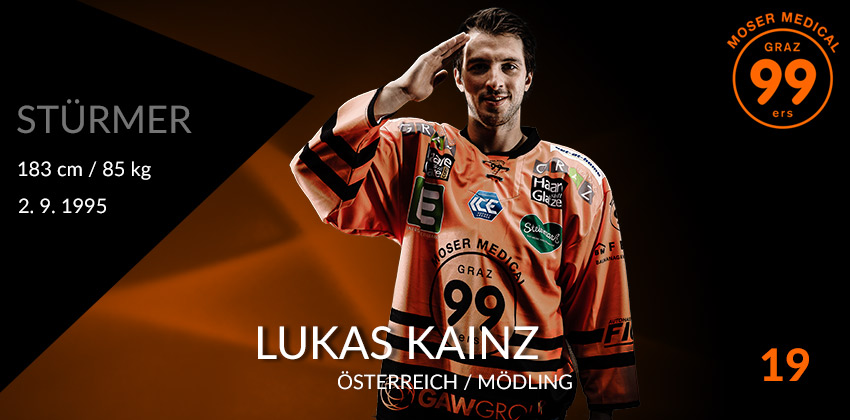 Lukas Kainz - Moser Medical Graz99ers