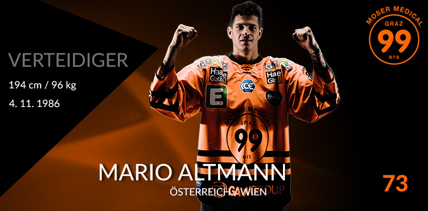 Mario Altmann - Moser Medical Graz99ers