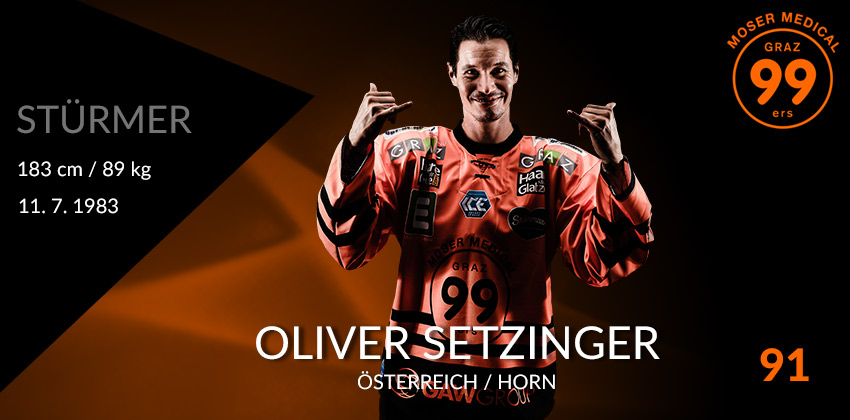 Oliver Setzinger - Moser Medical Graz99ers