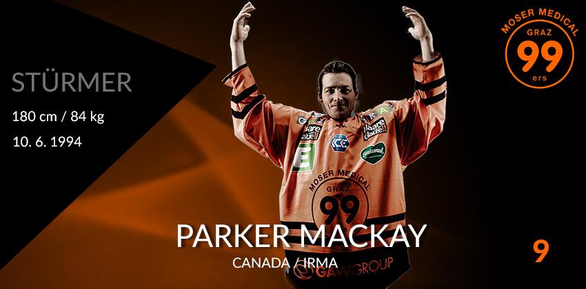 Parker MacKay - Moser Medical Graz99ers