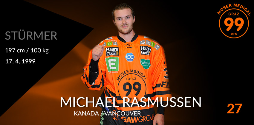 Michael Rasmussen - Moser Medical Graz99ers