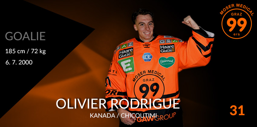 Olivier Rodrigue - Moser Medical Graz99ers