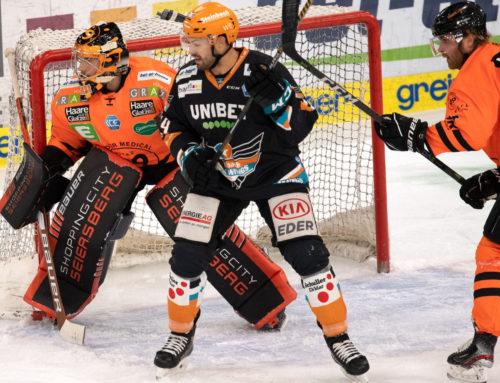 Graz99ers gewinnen Spiel in Linz