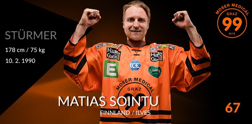 Matias Sointu - Moser Medical Graz99ers
