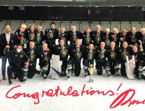 U16 der Eishockey Akademie ist Meister