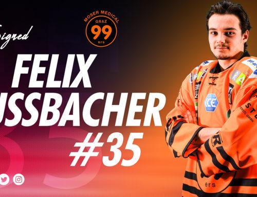 Graz99ers verlängern mit Schiechl&Nussbacher – Zusevics kommt zurück