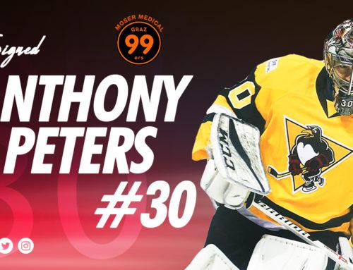 Graz99ers holen Goalie Anthony Peters