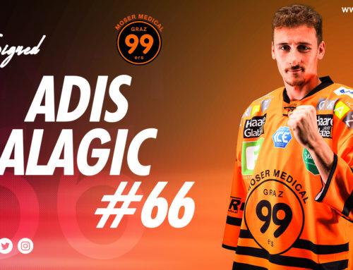 Graz99ers verlängern mit Adis Alagic