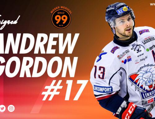 Graz99ers holen mit Andrew Gordon nächsten Top-Spieler nach Graz