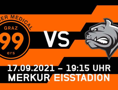 Graz99ers starten gegen Dornbirn – Vorläufiger Spielplan steht
