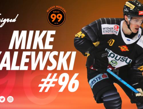 Mike Zalewski verstärkt die Graz99ers