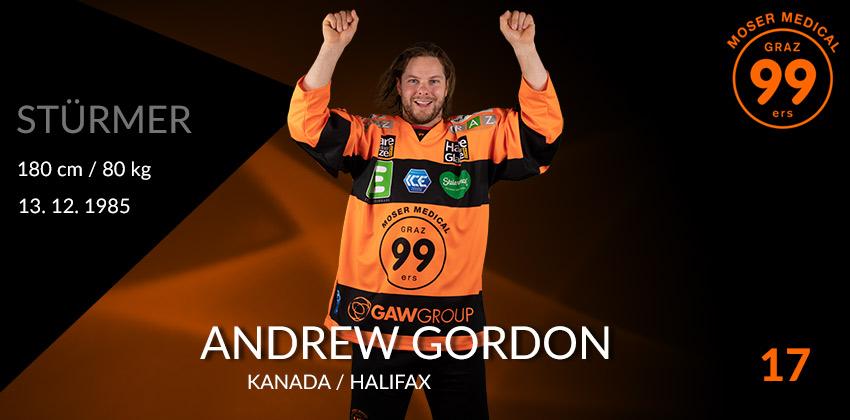 Andrew Gordon - Graz99ers