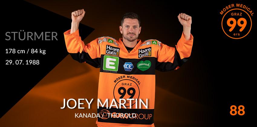 Joey Martin - Graz99ers