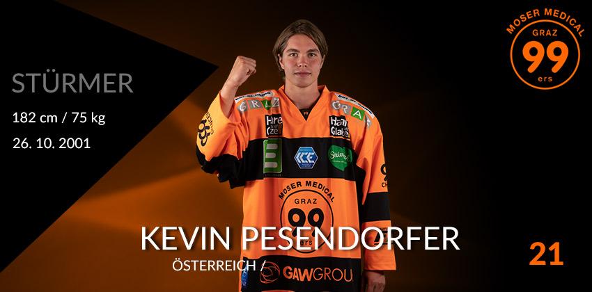 Kevin Pesendorfer - Graz99ers