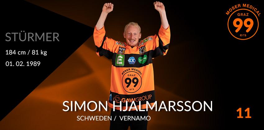 Simon Hjalmarsson - Graz99ers