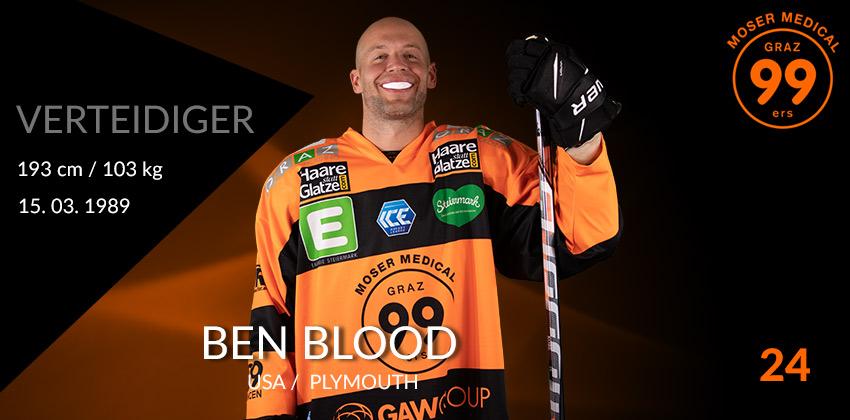 Ben Blood - Graz99ers
