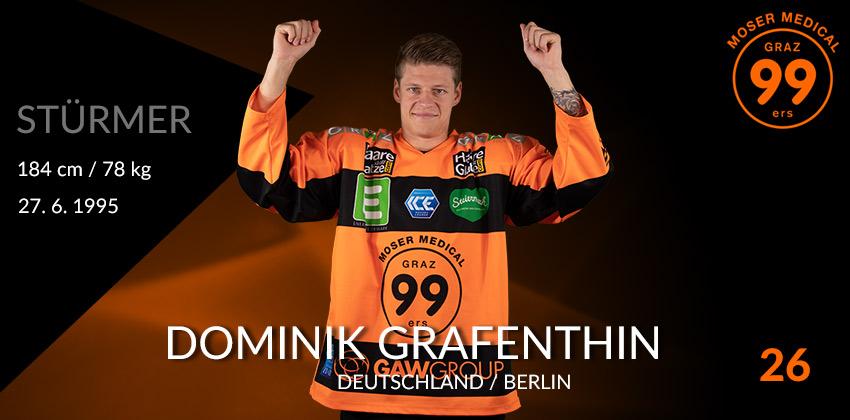 Dominik Grafenthin - Graz99ers
