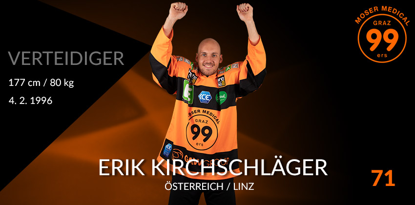 Erik Kirchschläger - Graz99ers