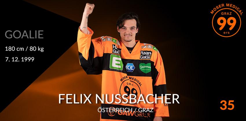 Felix Nussbacher - Graz99ers