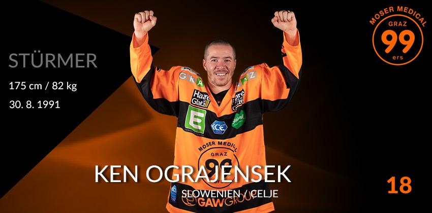 Ken Ograjensek - Graz99ers