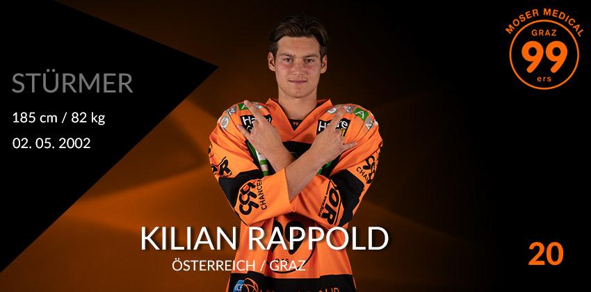 Kilian Rappold - Graz99ers