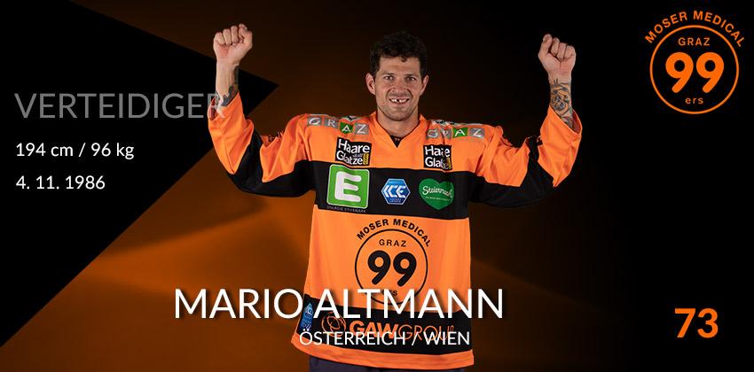 Mario Altmann - Graz99ers