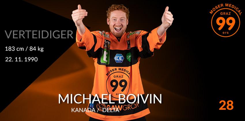 Michael Boivin - Graz99ers