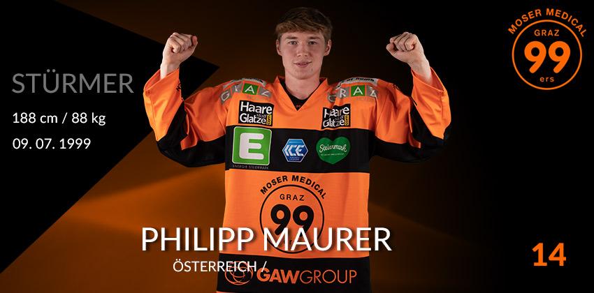Philipp Maurer - Graz99ers